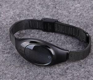 Z18 женщин подарок Bluetooth Smartwatch Пульсомер стальные металлические IP67 водонепроницаемый Smart Wristwatch для Android Market Apple