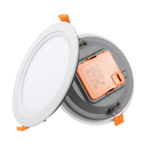 Todo en una sola lámpara empotrada 2835 12W SMD Montados IP44 y 12 vatios de luz LED panel