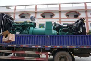 50Hz Stille Geluiddicht van de Waterkoeling 350kw Aangedreven door van de Diesel van de Motor van Volvo de Diesel Genset Reeks van de Generator