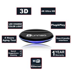 Sunnzo L9 androider intelligenter Fernsehapparat-Kasten mit Amlogic S905W Chips 1GB RAM/8GB ROM-Support 4K 1080P, 2.4GHz WiFi