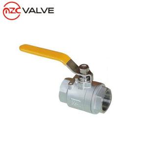 Корпус из нержавеющей стали /углеродистой стали 2PC типа шаровой клапан с внутренней резьбой
