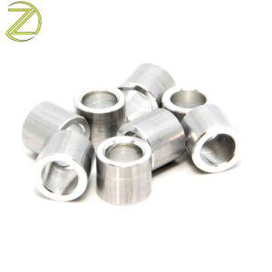 Tournage CNC Usinage de pièces de métal femelle ronde d'Entretoise filetée en acier la bague de manchon de l'écrou du manchon en acier inoxydable