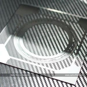 Het optische Regelbare Verchromen van het Glas past Filter voor de V.S. aan