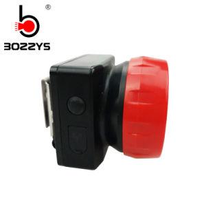 1W LEDのヘッド鉱山の無線コードレスランプ(BK800)