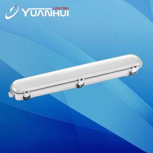 ETL Dlc IP66는 전등 설비 3FT 6FT 7FT LED 선형 빛, 수증기 단단한 빛, LED 세 배 증거 빛, 수증기 램프, LED 펜던트 빛을 방수 처리한다