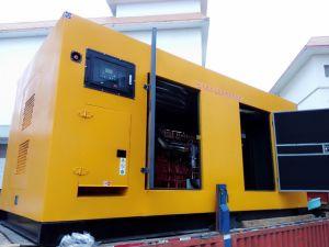 Nouveau 250kw Puissance Diesel Generator Utilisation Shangchai G128zld1 insonorisées faible bruit