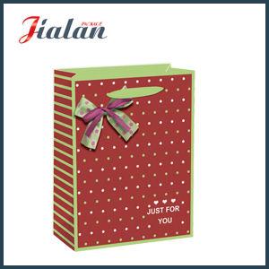 Juste pour vous  Papier ivoire avec Bow Shopping Sacs en papier cadeau