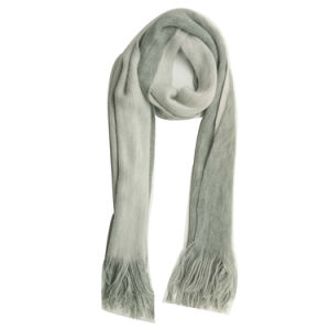 女性Winter Warm Fashion Knitting Revisible極度の柔らかいスカーフ