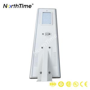 Приложение Smart Control 40W все в одном из солнечной LED уличное освещение для использования вне помещений