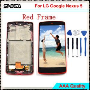 LG Googleの関連5+RedフレームのためのSinbeda LCDの表示
