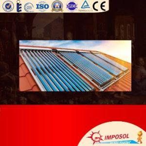 セリウムが付いている分割された実行中のヒートパイプの太陽給湯装置システム