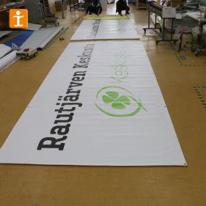 Large-Volumeカスタム旗を広告する屋内プリント