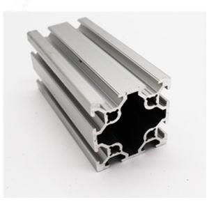 De aluminio anodizado 2020 3030 4040 5050 6060 8080 Perfil de aluminio de encuadre con ranura en T con precios baratos