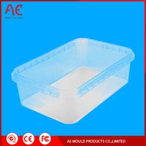 透過プラスチック収納箱の注入型