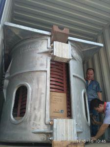 forno di fusione dell'acciaio inossidabile 750kg