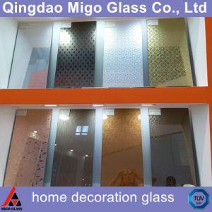 Ontruim/Gekleurd Decoratief Zuur Geëtstc Glas/Kunst Berijpt Glas