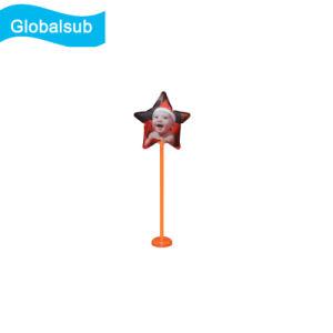 Estrela balão personalizado pela impressão de Transferência de Calor