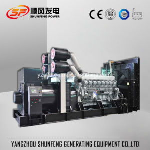 Mitsubishi Electric Power 1875kVA Groupe électrogène Diesel avec contrôleur Harsen