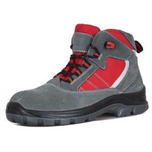Замшевая отделка гладка кожа мужчин/женщин Обувь/Обувь/рабочие ботинки Sn6052