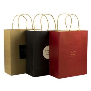Joyas impresas personalizadasbolsas de compras ropa Embalaje de regalo bolsa de papel
