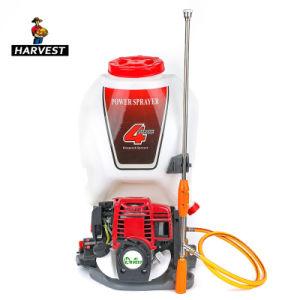 Venta caliente Mochila Pulverizadora de alimentación de gasolina agrícola (HTS-GX35).