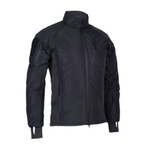 UF al aire libre y bombardero táctico negro chaqueta para hombre, ropa de hombre