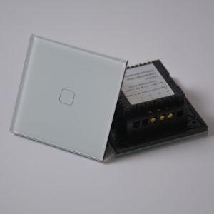 Pista Compatible WiFi 1Alexa Automatización Interruptor de luz de pared táctil