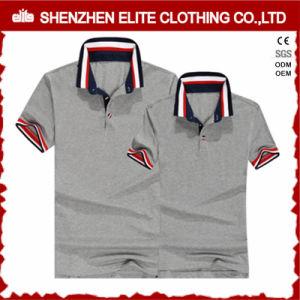 Camice a buon mercato 100% di polo personalizzate commercio all'ingrosso del cotone di marchio per i Mens (ELTPSI-43)