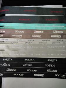 Single/Double enfrentou o logotipo impresso Organza poliéster/Grosgrain/Fita de cetim para venda