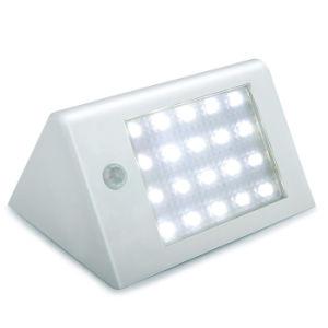 El sensor de la pared exterior de la luz solar LED 20 Watreproof IP65 de la energía solar la luz de seguridad de Movimiento PIR