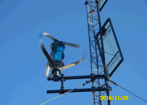 400 W de eixo vertical da turbina eólica off-grid para a estação de Telecom