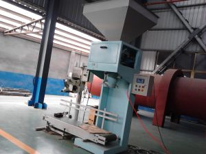Bzj-50 Machine d'emballage des granules de bois