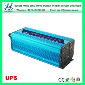 Portable 2000W UPS onda senoidal pura Carro Inversor de Energia (QW-P2000UPS)