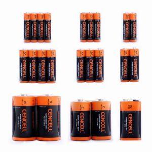 Batterie des Superenergien-Zink-Kohlenstoff-1.5V AA