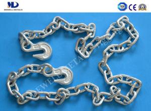 Aleación de acero de grado 80 negro enlazar el amarre de la cadena de enlaces