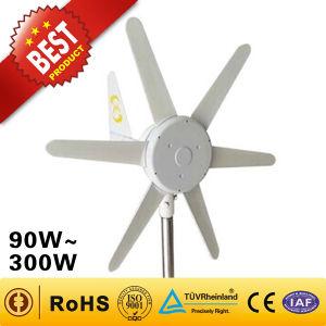 Портативный ветровой электростанции /ветровой турбины для яхт/Светодиодный индикатор (90W)