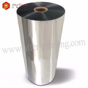 Plata 24micras Film laminación térmica metalizado