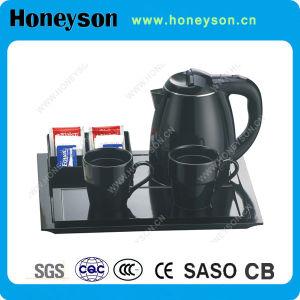 La bouilloire électrique du meilleur hôtel de qualité avec la marque de Honeyson