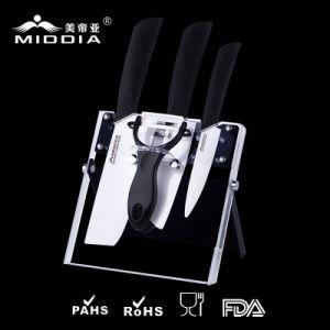 陶磁器のナイフセットのための台所用品または台所道具
