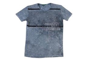 Maglietta stampata degli uomini lavati (DSC00559)