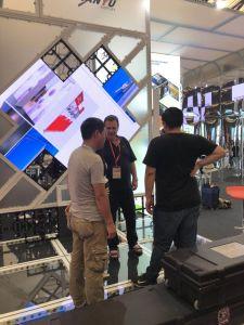 Shanghai Expo Trade Show shell Stand Blocage système de conception et la construction stand
