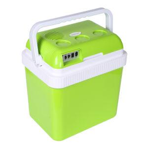24L термоэлектрического охладителя и теплее автомобильный мини холодильник автомобиля