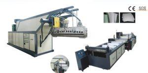 Máquina de extrusão de contador para trás