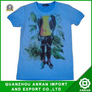 Maglietta stampata degli uomini lavati (DSC00547)