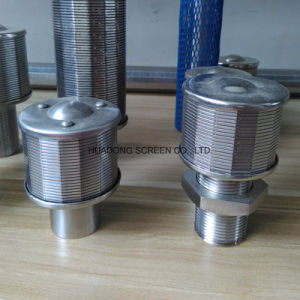 O tubo de borracha de tratamento de água em aço inoxidável do bico do filtro