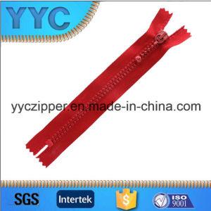 Sales를 위한 Yyc New Design Plastic Zipper Decorative Zipper