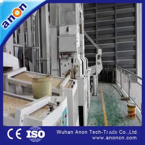 Anon volledig Automatische Lijn van de Verwerking van de Padie van de Apparatuur van de Rijstfabrikant Volledige