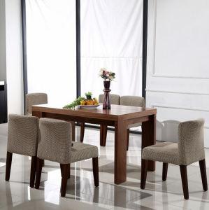 Mesa de comedor de madera con sillas de comedor juegos de comedor (M-X1009)