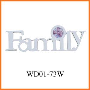 MDF рамка для фотографий (WD01-73W)