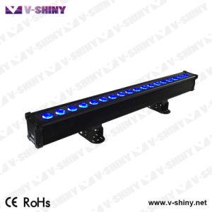 Rgbwauv 6in1 화소 방수 LED 벽 세탁기 바 클럽 빛